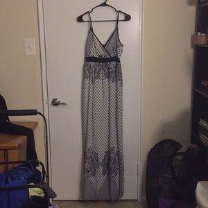 Modcloth Doe & Rae Gorgeous Patterned Maxi Dress